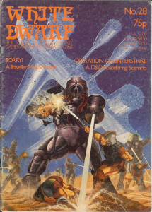 White Dwarf 28 cover