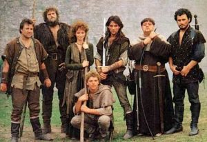 Robin of Sherwood hero cast