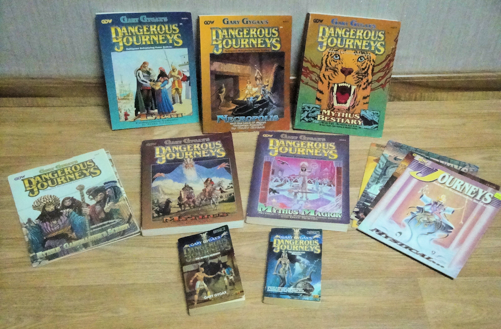 My Dangerous Journeys collection.