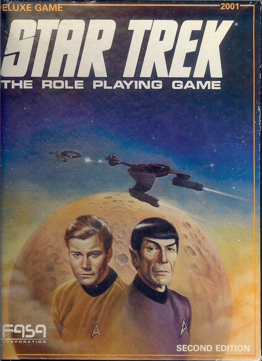 FASA Star Trek Deluxe second edition box art