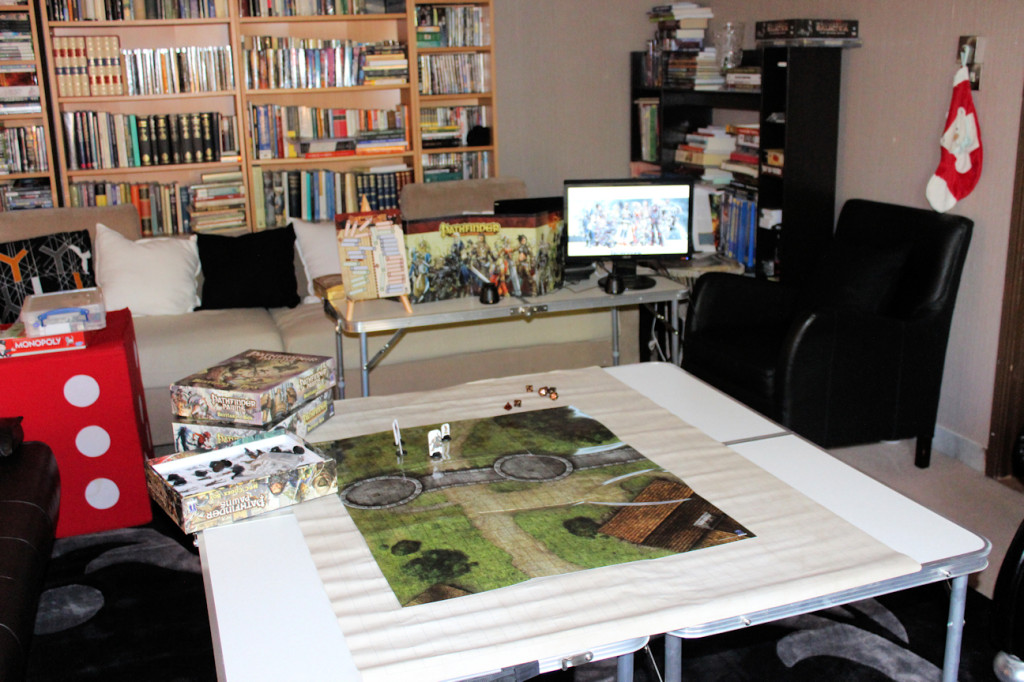 The Pathfinder player table