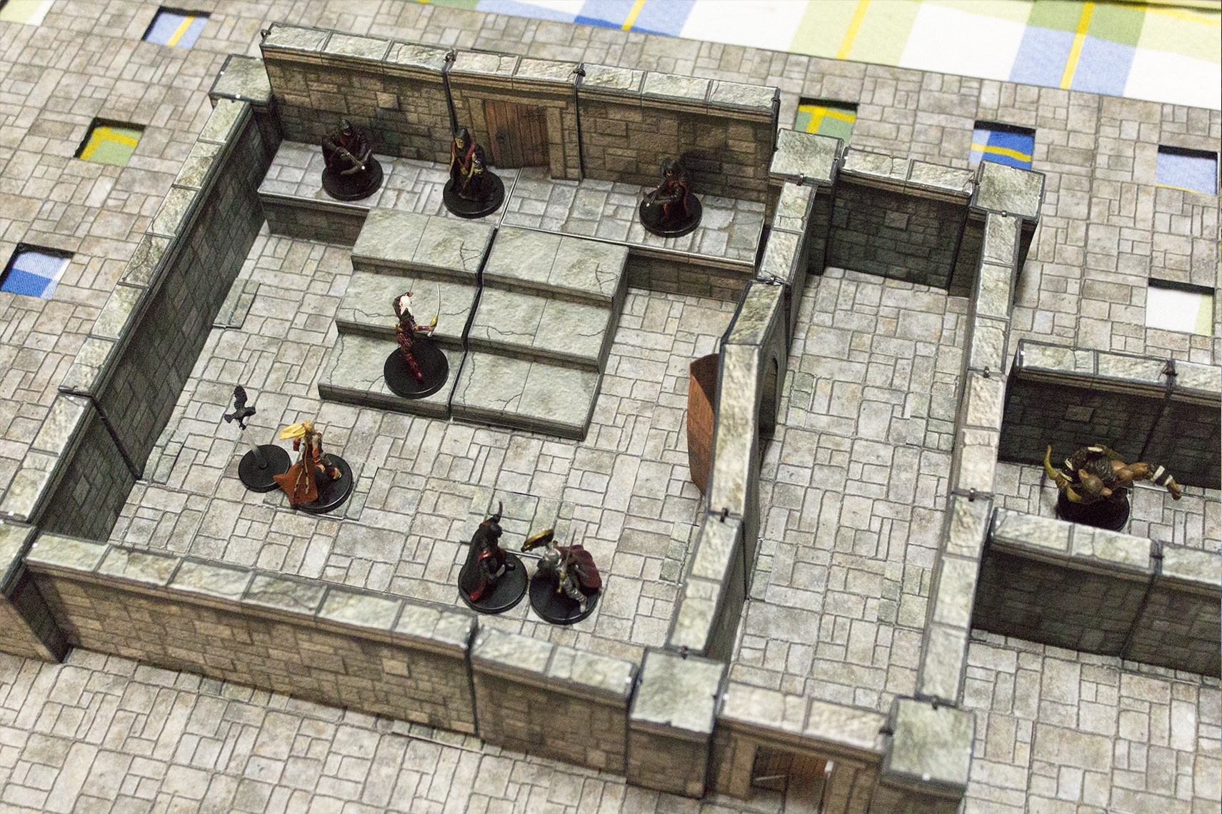A simple dungeon layout